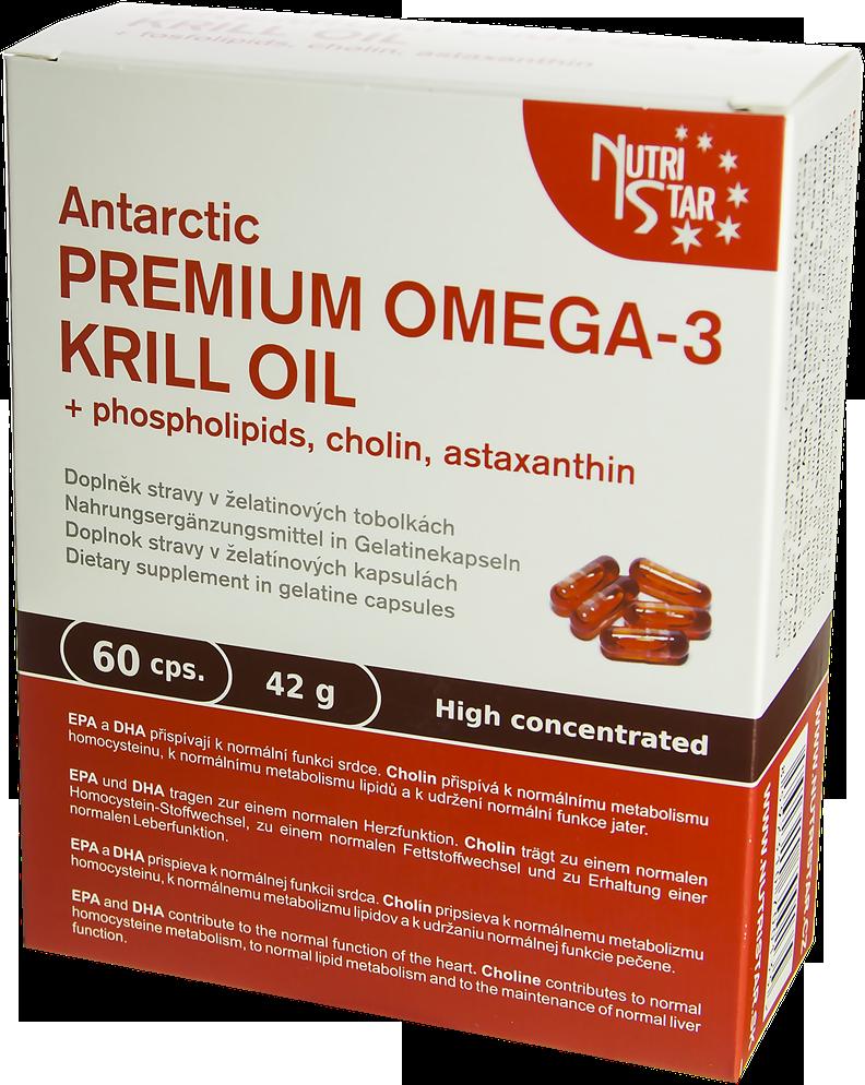 Antarctic PREMIUM OMEGA-3 KRILL OIL