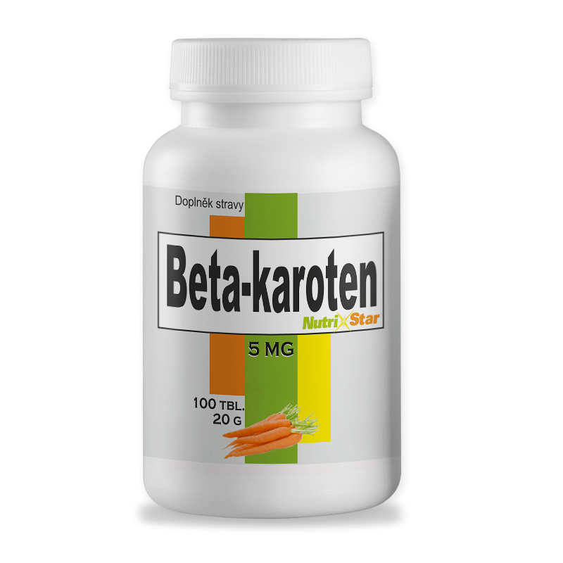 Beta-karoten 5 mg ,100 tbl