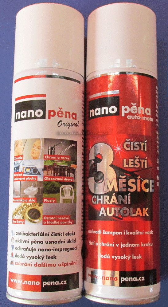 NANOPĚNA Original 1x250ml + NANOPĚNA Extra silná 1x 250ml - SET